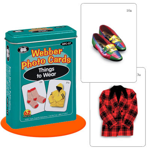 Webber Photo Cards Things to Wear