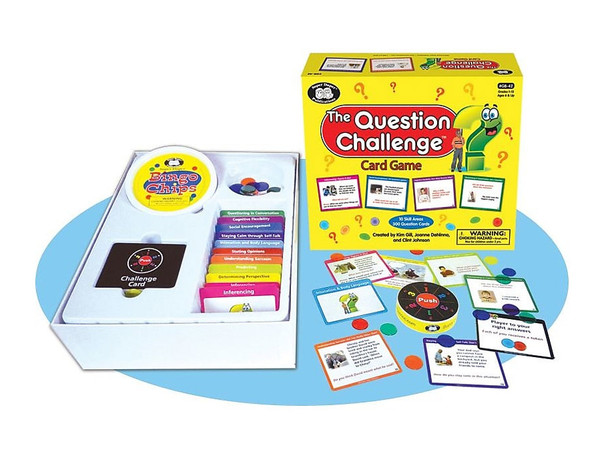 The Question Challenge Card Game