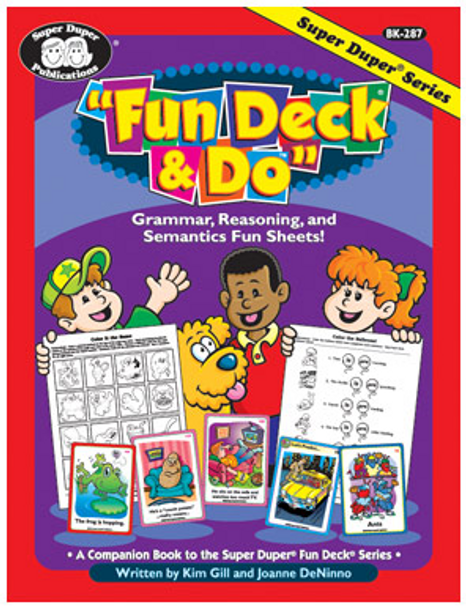 Fun Deck & Do Fun Sheets