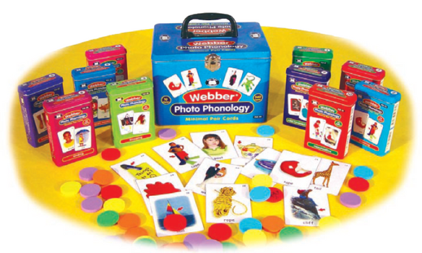 Webber Photo Phonology - Minimal Pairs Cards Set