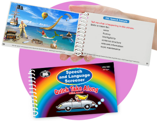 Speech and Language Screener Quick Take Along