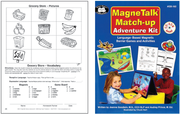 Magnetalk Match Up Adventures Kit without Barrier