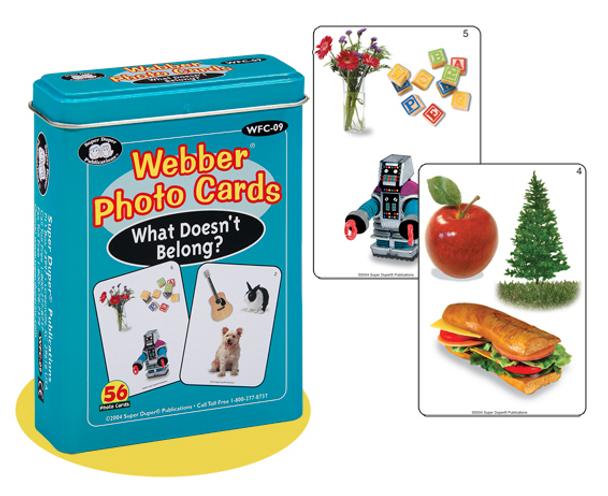 Webber Photo Cards What Doesn't Belong