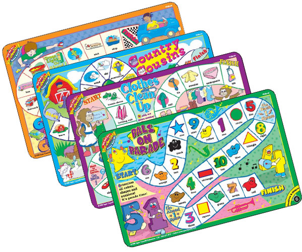 Say & Do Vocabulary Game Boards