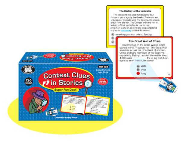 Context Clues Super Fun Deck