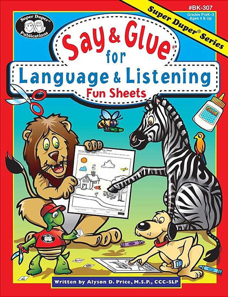 Say & Glue Language And Listening