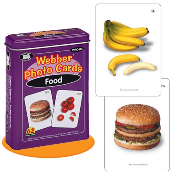 Webber Photo Cards Food
