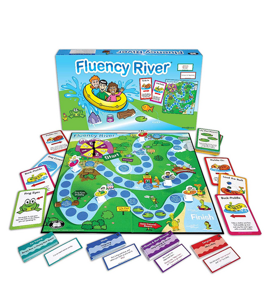 Fluency River Board Game