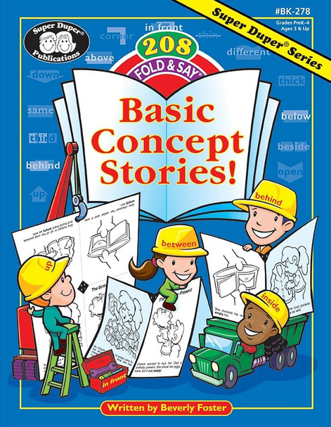 208 Fold & Say® Basic Concept Stories!