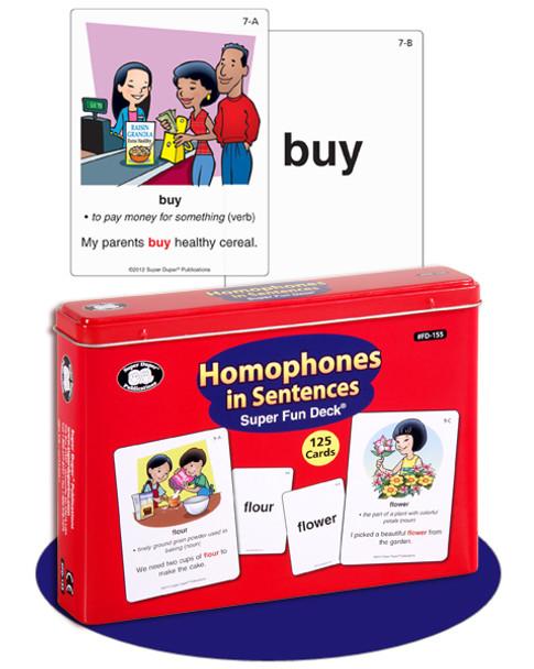 Homophones in Sentences