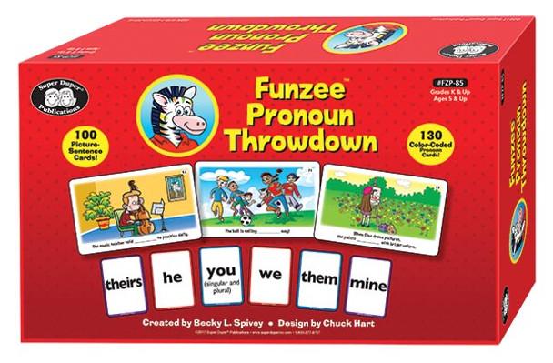 Funzee Pronoun Throwdown