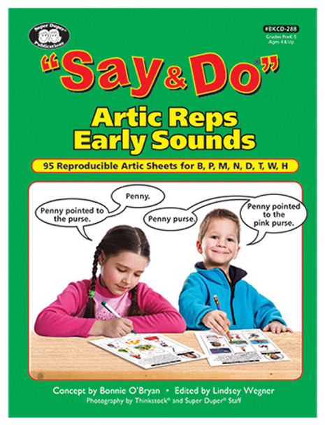 Say & Do Artic Reps Early Sounds