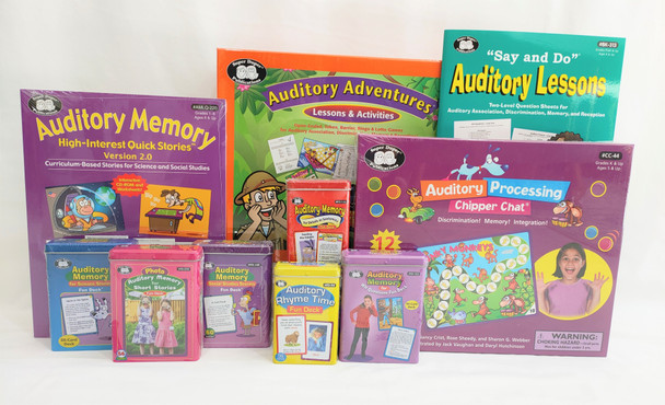 Auditory Processing & Auditory Memory Therapy Pack Two
