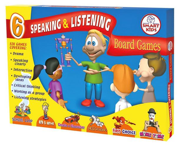 6 Speaking & Listening Board Games