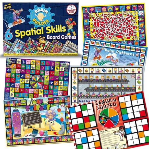 6 Spatial Skills Board Games