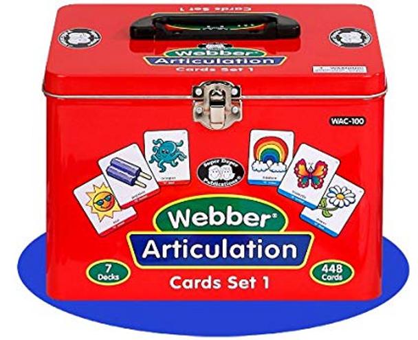 Webber Articulation Cards Set 1