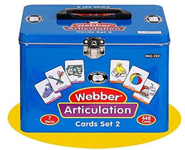 Webber Articulation Cards Set 2