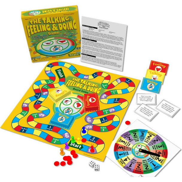 Talking, Feeling, Doing Board Game, Revised Edition