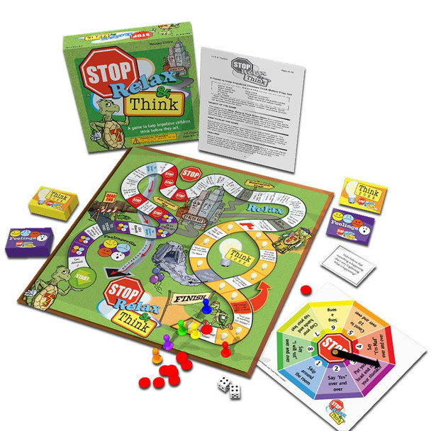 Stop, Relax & Think Board Game, Revised Edition