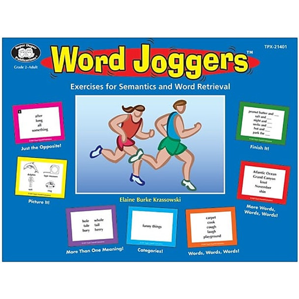 Word Joggers Exercises for Semantics and Word Retrieval