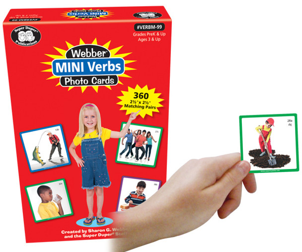 Webber Mini Verbs Photo Cards