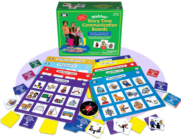 Webber® Story Time Communication Boards
