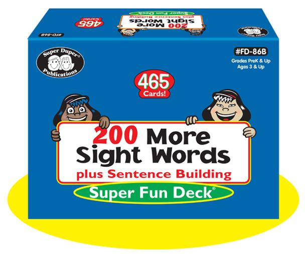 200 More Sight Words plus Sentence Building
