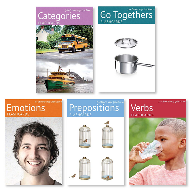 Picture My Picture - Five Flashcards Combo