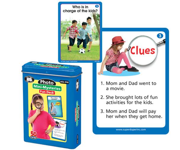 Photo Mini-Mysteries Fun Deck