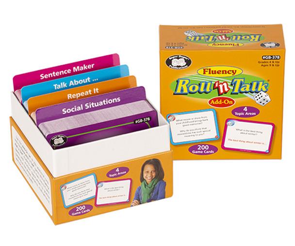 Fluency Roll 'n Talk Add-On Cards