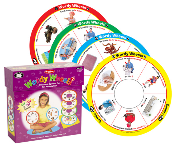 Webber Wordy Wheel 2 (SH, CH, and TH Sounds)
