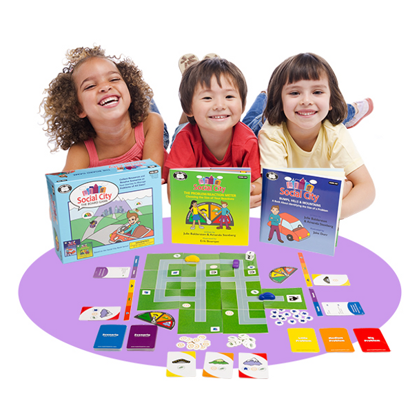 Social City - A Social Skills Board Game with Books