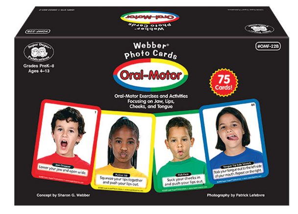 Webber Oral-Motor Photo Cards
