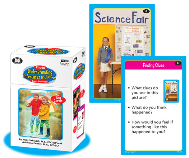 Photo Understanding Inferences & More! Super Fun Deck