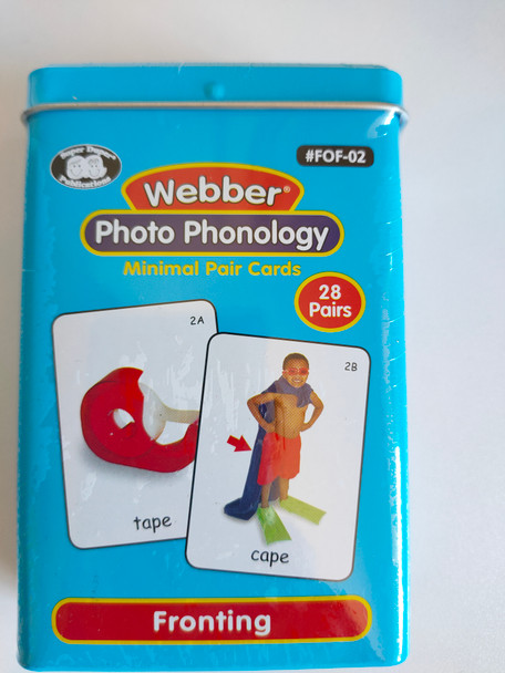 Webber Photo Phonology - Fronting Fun Deck