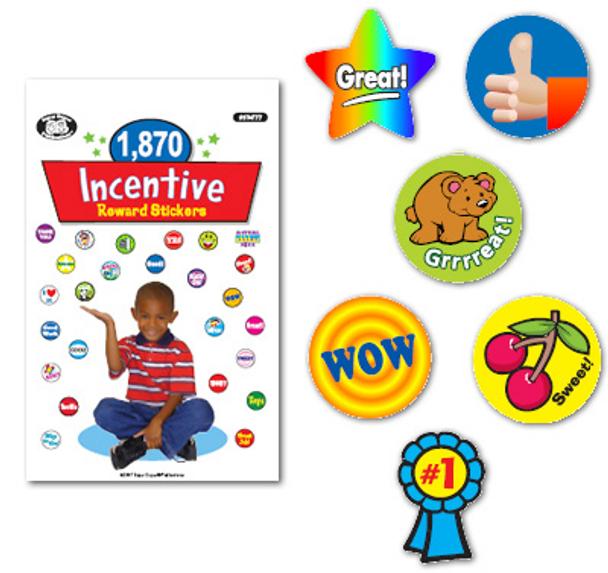 1870 Incentive Reward Stickers