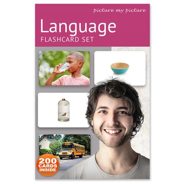 Language Flashcard Set - 200 Cards
