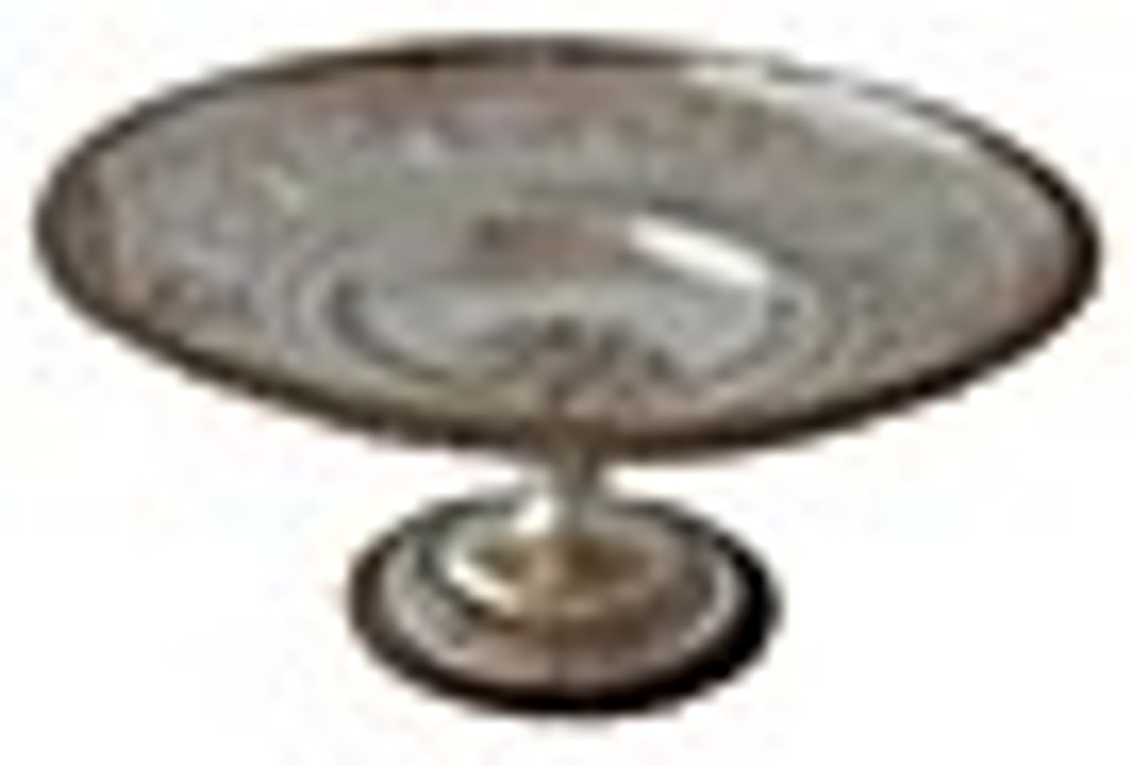 Pierced English Compote, C. 1860