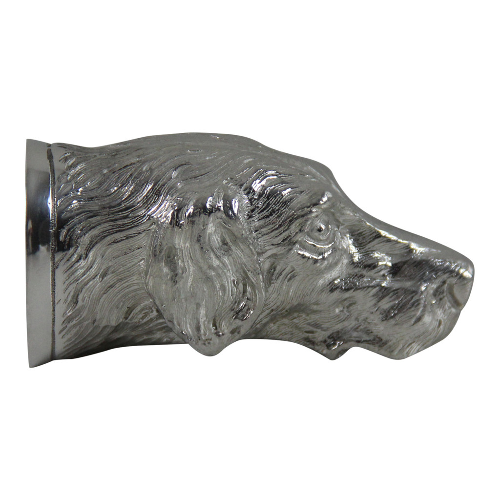 Fine Quality English Pewter Dog Head Jigger,Measure