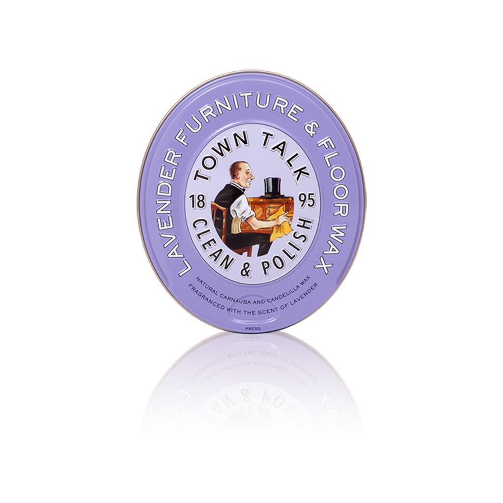 Town Talk Lavender Furniture & Floor Wax 150gms.5oz (TT071)