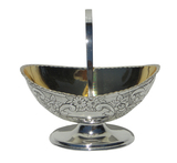 Silver-Plated Candy Basket-Classic