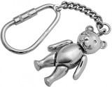 Moving teddy bear keychain