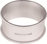 Plain large round napkin ring