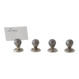 Golf Ball Place Card holders S/4