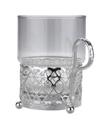 Single Tea Glass/Antique Strip
