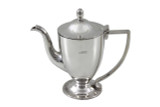Savoy Round Long Spout Hotel Silver Coffee Pot Post 1960 (ANT1133)