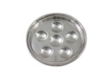 Royal Garden Hotel Silver 6 Oyster Dish Post 1960 (ANT1150)