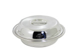 """The Connaught Hotel silver Round 6"""" vegetable Dish Post 1960"""