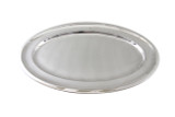 """The Ritz Hotel Silver 20""""Oval Platter Post 1960"""