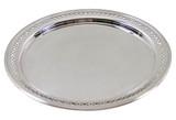 English Pierced Round Tray, C. 1900 (A092a)